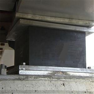 브리지를 위한 탄성 박판으로 만들어진 고무 방위 패드