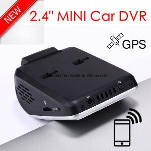 2018 Google Mapのプレーバックによってルート車のダッシュのカメラ追跡するGPSの新しいID 2.4inch車DVR GPSの自動記録器車のデジタルビデオレコーダーDVR-2408を