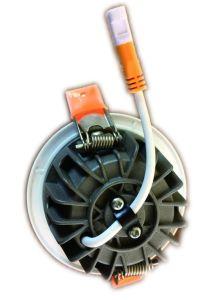 Wh Ww Cw 10ワット20ワット30ワット40ワット内部の隠された穂軸80ワットのLED Downlight