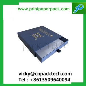 耐久の包装のギフト包装ボックス優雅なハンドメイドの宝石箱を包む習慣によって印刷されるボックス