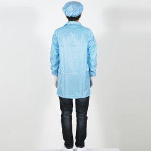 정전기 방지 외투 청정실 중국에 있는 작동되는 작업복 ESD 옷