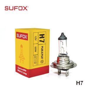 12V 55W 6000K H7 PX26D кварцевую колбу галогенных ламп для автоматического включения фар лампы