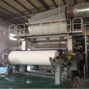 3600 Crescent Machine à papier de toilette avec vitesse de conception 600-800m/min