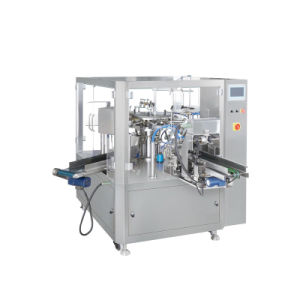 Sacos Premade rotativo automático Bolsa máquina de embalagem de líquidos