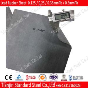 1mm 2mm 3mm het Zuivere RubberBlad van het Lood van Metaal 99.997%