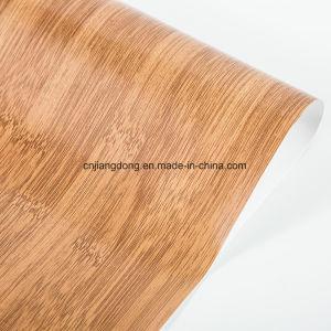 Du grain du bois Film décoratifs en PVC pour les planches de revêtement de sol