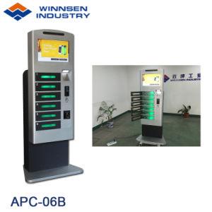 Winnsenの自己サービス作動するカジノのクレジットカードの移動式携帯電話充満端末