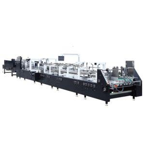 Caja de fruta haciendo Machinet Box Fabricación de papel la máquina de encolado GK-1100Foling (GS)