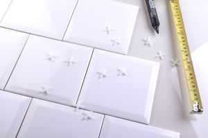"""4 """" X4 """" Tegel van de Muur van 10X10cm de Witte Verglaasde Ceramische in het Behandelen van de Muur van Pakistan Baksteen, Tegel & Toebehoren"""