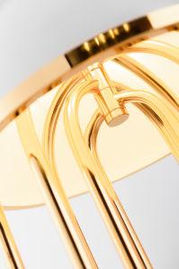 Frisches Lichtquelle-Eisen-materielle moderne Tisch-Lampe des Lampen-neues Entwurfs-G9