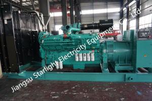 Высокая мощность генератора дизельного двигателя Cummins генераторная установка 1500 квт 50Гц двигатель Cummins QSK60-G3