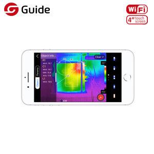 Großer LCD-Bildschirmanzeige-HandWärmebildgebung-Kamera-beweglicher Infrarotthermometer IR-thermischer Toner