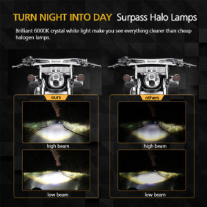 Whosale Cheap 5.67 Inch Offroad LED Light、Round 30W Motorcycle Head Light