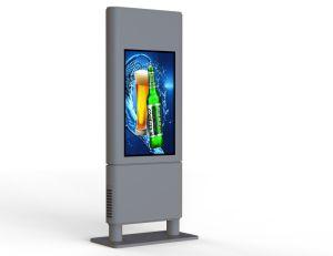옥외 중단된 방수 IP65 32  높은 발광성 LCD 멀티미디어 선수
