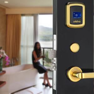 カードが付いているデジタル入口のホテルのドアロック