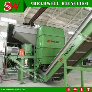 Двойной вал шинковки машины для переработки отходов может/Тин/тканый мешок