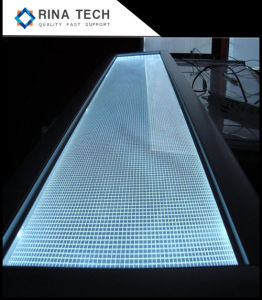 青いLEDのバックライトのラップトップのバックライト