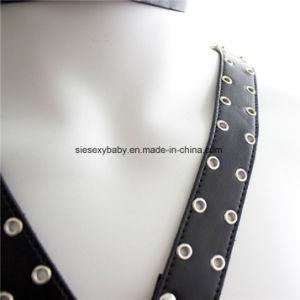 Cuir synthétique BDSM de dispositifs de retenue de bondage Harnais de sécurité des jouets sexuels ÉROTIQUE POUR ADULTE Jeu Sjb003