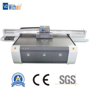 Stampante di getto di inchiostro a base piatta UV industriale di ampio formato della stampante per stampa di Digitahi