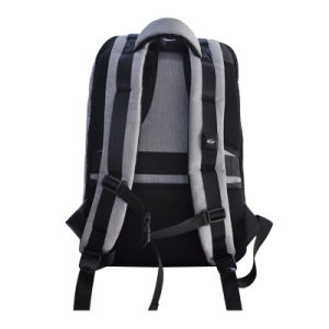 USBの充満ポートが付いている余暇の反盗人のコンピュータ袋のラップトップのバックパック