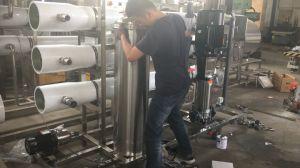 6000L/H de Behandeling van het Water van het Systeem van de omgekeerde Osmose RO met Voorbehandeling
