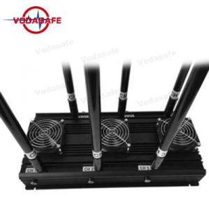 Emittente di disturbo fissa per i telefoni mobili, inseguitore di GPS del walkie-talkie, Lojack, Wi-Fi/Bluetooth del modello dell'emittente di disturbo di Profressional di alto potere