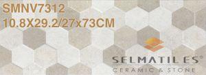 Hexagon Ceramische Tegel van de Muur voor Bouwmaterialen - Vage Nouvelle