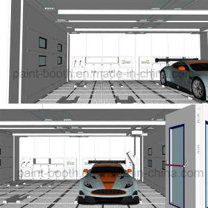 Infitech Multi-Station Estándar europeo de la estación de preparación para la automoción/Prep Bay & cabina de pintura en Spray para la venta