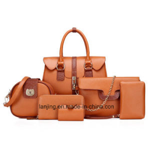 2018 Fashion Designer Mesdames PU sac bandoulière en cuir femmes sac à main Lady sac fourre-tout