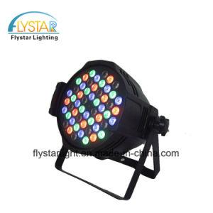 En el interior de canal 8 54PCS RGBA PAR LED 3W iluminación de escenario puede