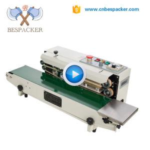 Sac continue automatique avec la date de l'imprimante de la machine d'étanchéité