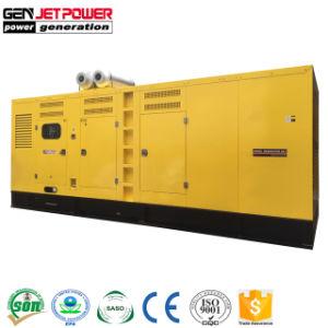 Tipo insonorizzato generatore del contenitore 750kVA del diesel della prova del tempo del generatore 600kw