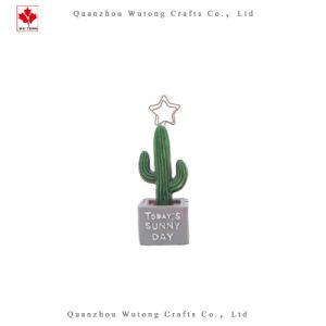 De promotie Klem van het Bericht van het Memorandum van de Cactus van de Hars