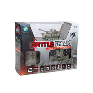 Nuovo giocattolo militare di telecomando di 1:12 del serbatoio del micro RC con il telaio basso del serbatoio