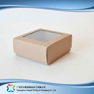 Faltender Papier-verpackenkasten für Nahrungsmittelschokoladen-Süßigkeit-Kuchen (xc-fbk-017)