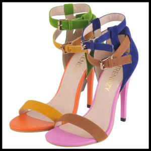 La mode haut talon Mesdames sandales (L'Hcy02-224)