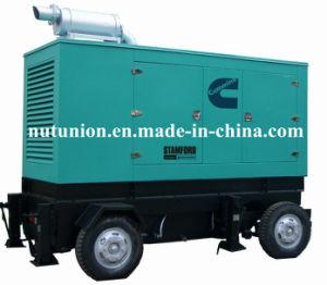 極度の無声ディーゼル発電機Cummins 400kVA (GDC-400)