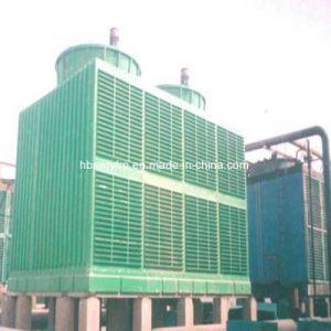 省エネの正方形の形の十字流れ水冷却塔