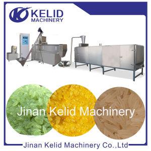 Square artificielles du fourreau de la nutrition du riz fortifiée Making Machine