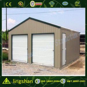 Аттестованный SGS гаража автомобиля стальной рамки Lingshan светлый (SSCG)