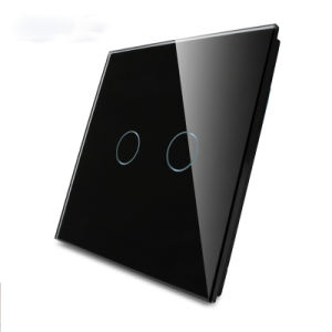 Black Serigrafía Contacto Panel de cristal templado