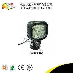 Alta potencia 40W 4 pulgadas cuadradas de trabajo de luz LED de conducción de camiones