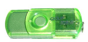 Транспарентности пластиковые флэш-накопитель USB, OEM/ODM Заказы принимаются, класс A