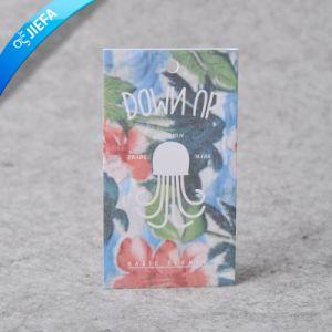 Papier coloré de fantaisie Tag/étiquette brillant/Hang Tag de papier