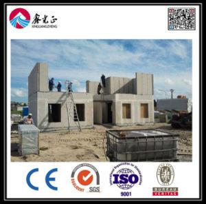 EPS panneau sandwich de ciment/Villa pour maisons préfabriquées