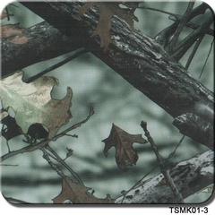 Venda por grosso de 0,5m Tsautop/1m de largura camuflagem e a transferência de água de Filme Hidrográfico Árvore Imprimir filme Hydro Dipping Film Tsmk22