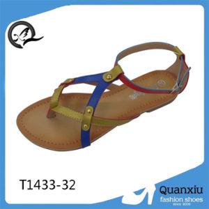 La mode des chaussures sandales Mesdames Fancy sandale 2014 Femme sandale (T1433-32)