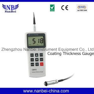 Fácil operação do medidor de espessura do revestimento Digital com marcação CE