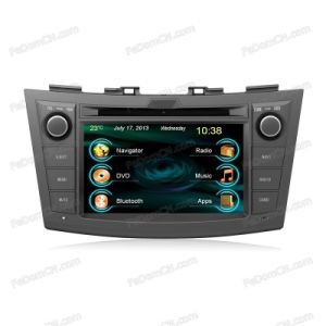 Radio Bluetooth GPS Navigation MP3/4 USB/SD를 가진 스즈끼 Swift를 위한 Indash Car DVD GPS Player (C7076SS)