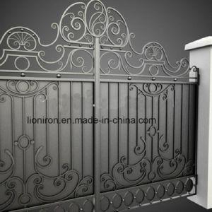 Fait à la main de la sécurité de jardin Porte coulissante Porte en ...